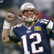 At age 26, Tom Brady is a two-time Super Bowl MVP